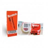 3M Scotch Utility Transparent Tape 500B 18mm (Box)