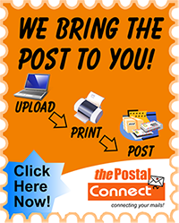 The Postal Connect - 1 stop mail logistic partner
