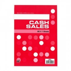 Cash Sales Book HK91