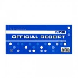 Official Receipt Book NCR