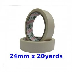 Masking tape 24mm x 20yd