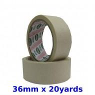Masking tape 36mm x 20yd