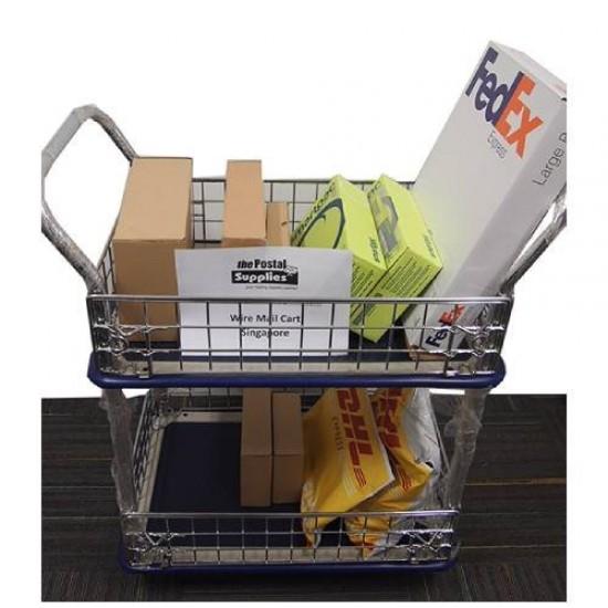 2-tier Platform Mail Cart  (Trolley)