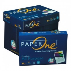 A4 80gsm/ 85gsm Paperone Blue All Purpose Copy Paper (5 reams per box)