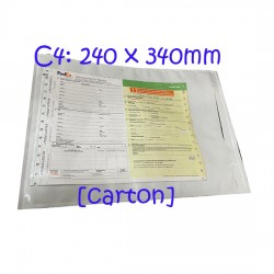 PLAIN Packing List Envelopes PL-A4 Carton (500pcs)