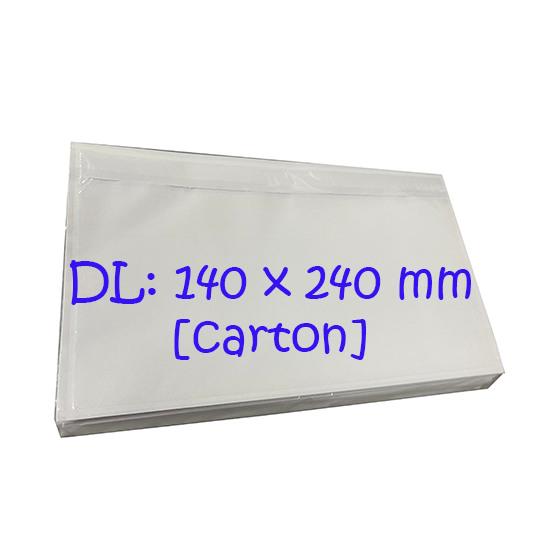 Packing List Envelopes (DL) Plain Carton (1000pcs)