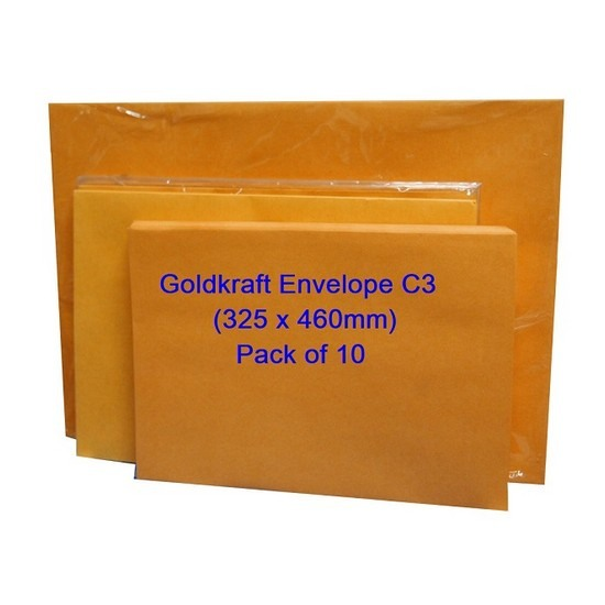 Goldkraft Envelope C3 13 x 18 (Pack of 10)