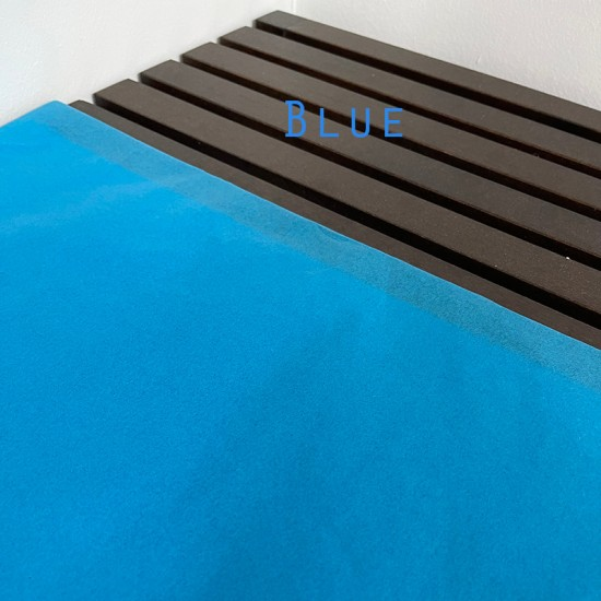 Blue Coloured Wrapping Tissue Papers 50x70cm (17gsm)