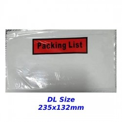 Packing List Envelopes (DL)