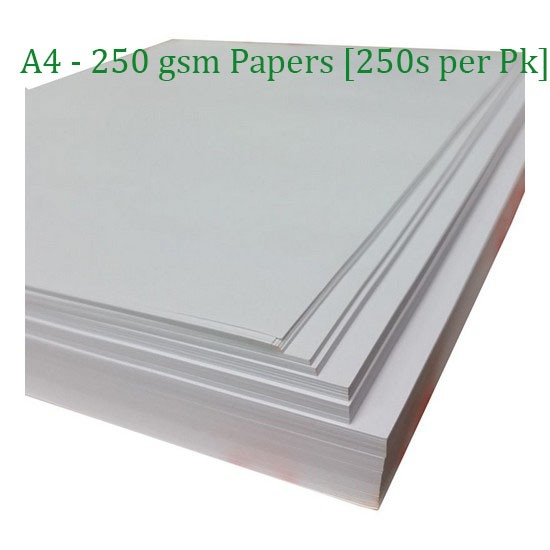 A4 Mellotex White Presentation Papers (250s)