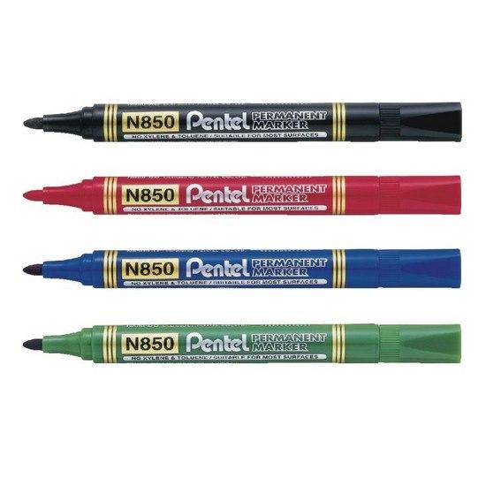 Pentel N850 Permanent Marker Blue