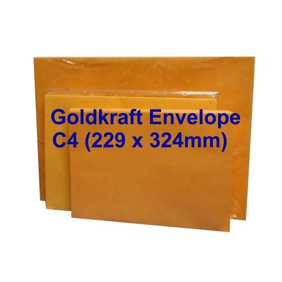 Goldkraft Envelope C4 9 x 12-3/4 (Pack of 10)