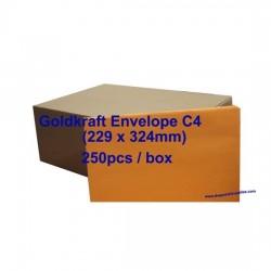 Goldkraft Envelope C4 9 x 12-3/4 (Box)