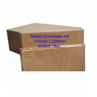Manilla Envelope 4x9 (Box)