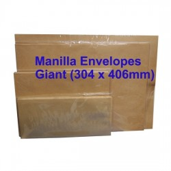 Manilla Envelope No.1216M Giant 12X16 (Pack of 10)