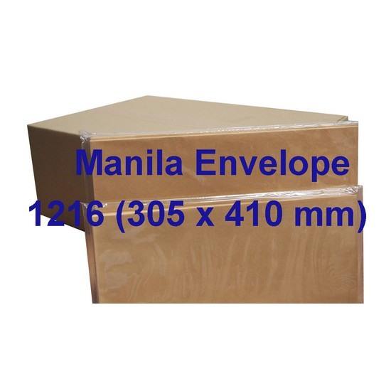Envelope Giant 12x16 Manilla (Box)