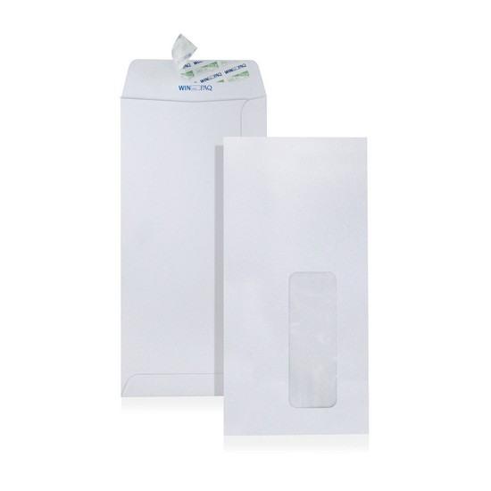 White (Window) Envelope DL 110 x 220mm (Pack of 20)
