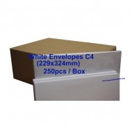 Envelope C4 9X12-3/4 White (box)