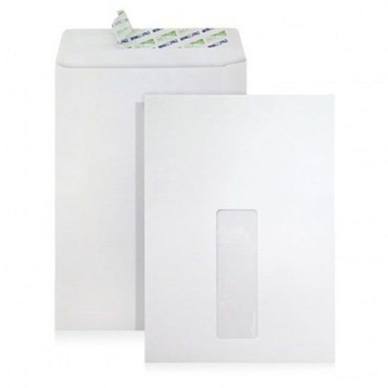Envelope Window C5 6-3/8X9 White (box)
