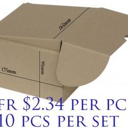 Postal Box Size B-03 - 10pcs per set (Pre-Order; No Exchange/ Return)