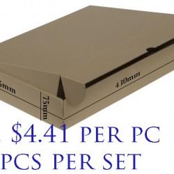 Postal Box Size B-05 - 10pcs per set (PRE-ORDER; NO EXCHANGE/ RETURN)