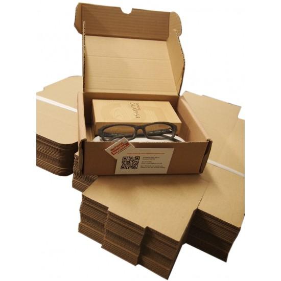 Postal Box Size 00 (XXXS) - 25pcs per bundle