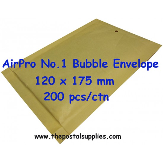 Airpro Padded Envelope No.1 (200 per box)