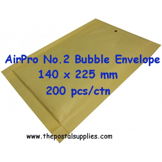 Airpro Padded Envelope No.2 (200 per box)