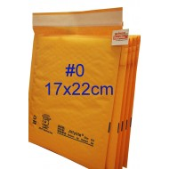 Jiffylite Kraft Bubble Mailer #0 [Limited Stock]