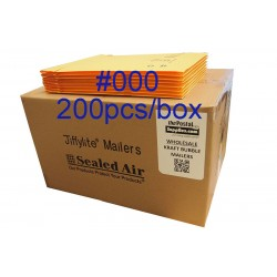 Jiffylite Kraft Bubble Mailer #000 (Wholesale)