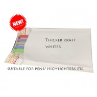 Kraft White Bubble Mailer #000 (10/pk)