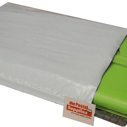 White Poly Bubble Mailer #M