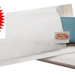 Kraft White Bubble Mailer #00 (10/pk)