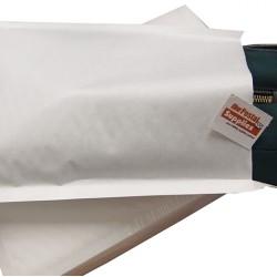 Kraft White Bubble Mailer #1 (C5) (Wholesale)
