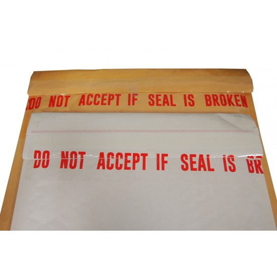 Do Not Accept If Seal Is Broken Tape 48mmx40yds