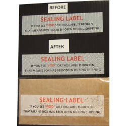 Tamper-Evident Void Security Stickers (Large)
