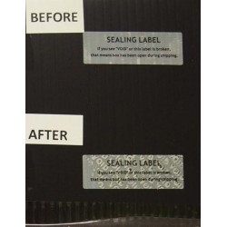 Tamper-Evident Void Security Stickers (M)