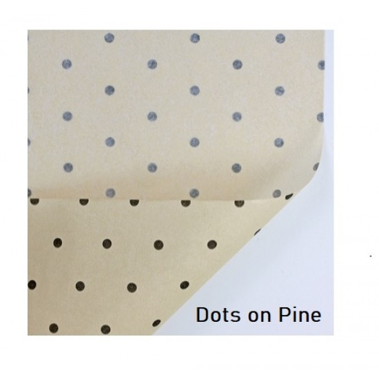 20pcs Designer Printed Tissue Papers - Dots