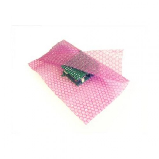 Anti-Static Bubble Wrap ® Roll 300ft(L) x 20inch(H) Pink