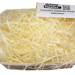 Light Yellow Shredded Paper