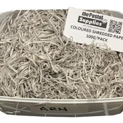 Light Grey Shredded Paper