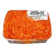 Orange Shredded Paper