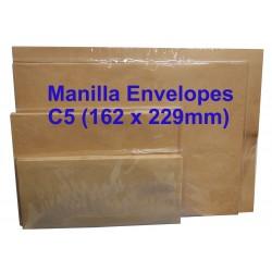 Manilla Envelope C5 6-3/8 x 9 (Pack of 20)