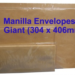 Manilla Envelope No.1216M Giant 12X16 (Box)