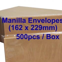 Envelope C5 6-3/8X9 Manilla (box)