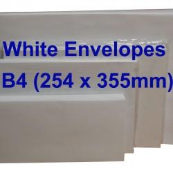 White Envelope B4 10 x 14 (Pack of 10)