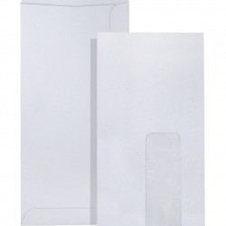 White (Window) Envelope DL 110 x 220mm (Pack of 20)