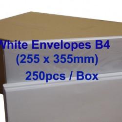 Envelope B4 10X14 White (box)