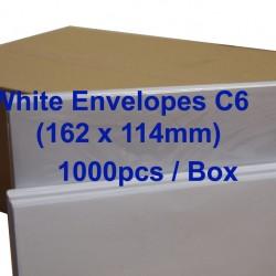 White Envelope C6 6-3/8 x 4-1/2 (Box)