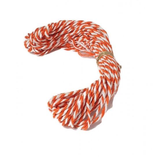 Baker's Twine (Orange & White)